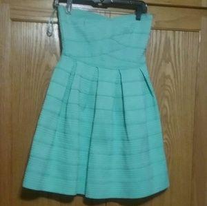 EUC-Gabriella Rocha Strapless Dress- Sz S